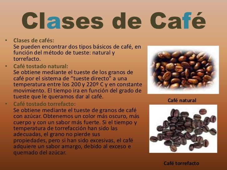 Clases De Cafe