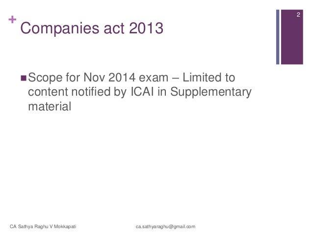 case study for ca final nov 2014