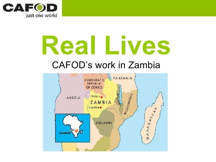 Real Lives CAFOD's work in Zambia