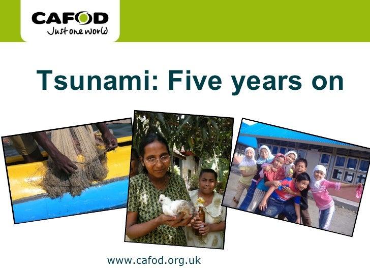 Tsunami five years on photogallery