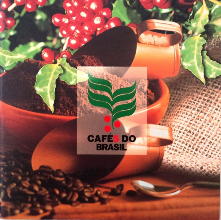 Cafés do brasil   folder ano 2000 - completo