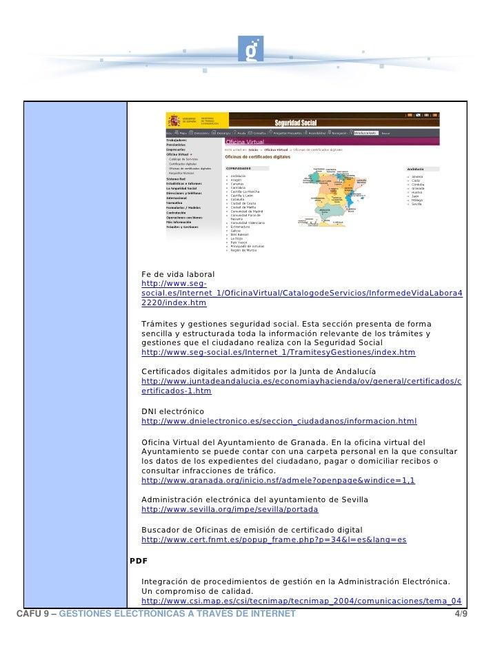 Gestiones electronicas - Oficina virtual junta de andalucia ...