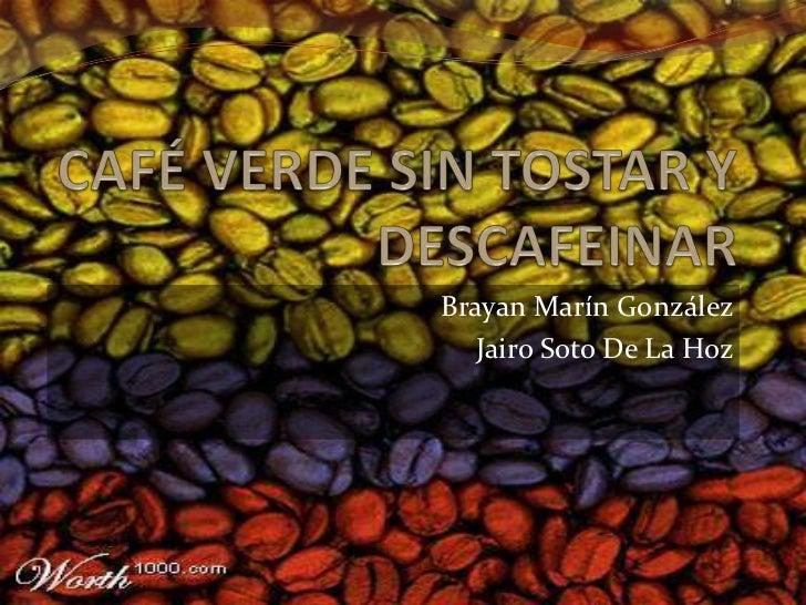 Brayan Marín González   Jairo Soto De La Hoz