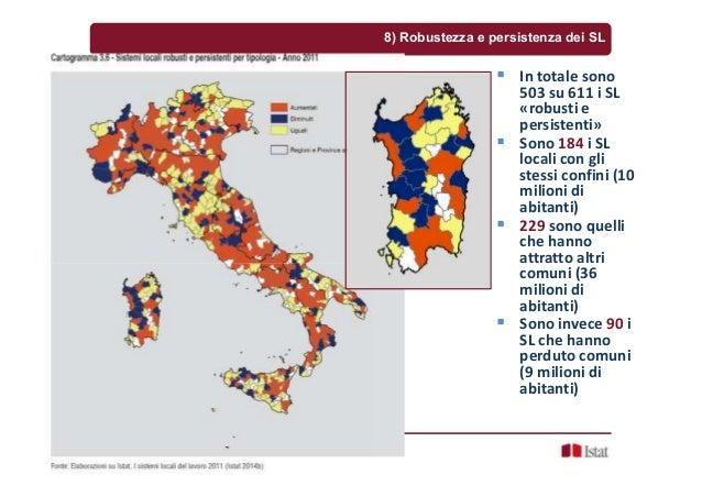Sandro Cruciani, Cagliari, 16 dicembre 2015 8) Robustezza e persistenza dei SL In totale sono 503 su 611 i SL «robusti e p...