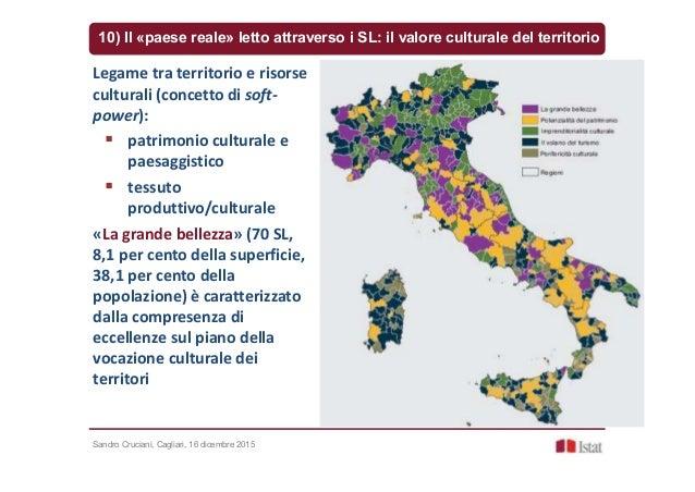 Sandro Cruciani, Cagliari, 16 dicembre 2015 10) Il «paese reale» letto attraverso i SL: il valore culturale del territorio...