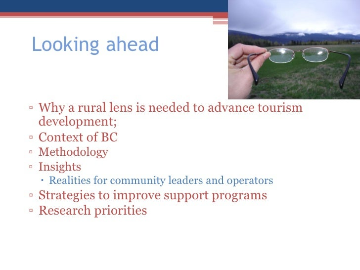 the development of the rural tourism tourism essay Cultural characteristics that make rural destinations appealing to visitors could  limit local engagement in rural tourism development as well so, the paper loo.