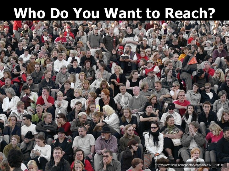 """Who Do You Want to Reach? .75"""" .75"""" .75"""".75"""" http://www.flickr.com/photos/hamoid/317021961/"""