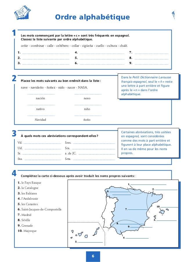 cahier d'activités petit larousse espagnol