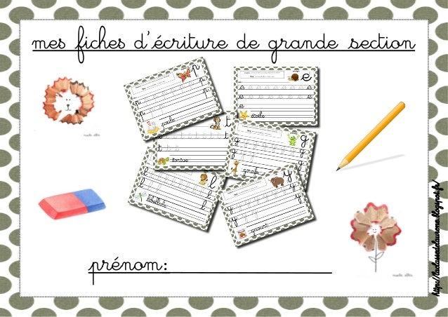me$ ²fiche$ d'²écriture de grande ²section  http://laclassedelaurene.blogspot.fr/  ²prénom: