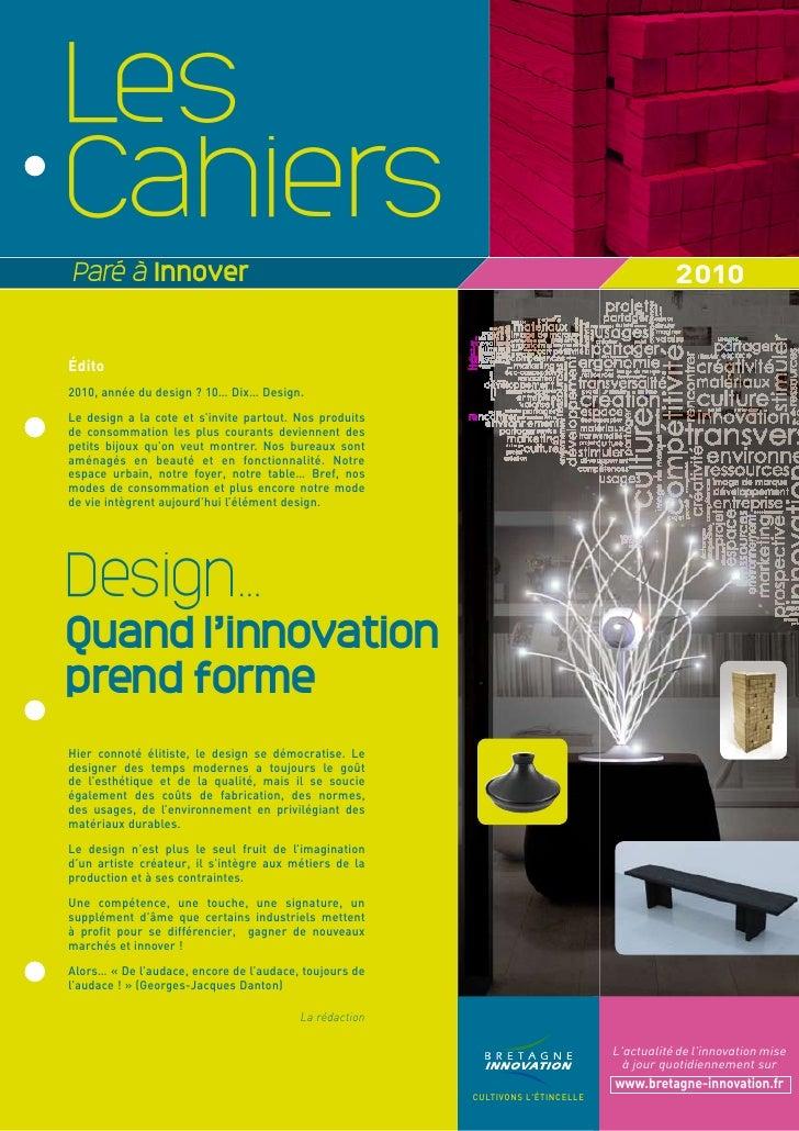 Cahier PAI 2010 : spécial design