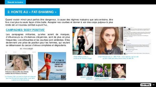 Beauté inclusive 26 Quand vouloir mincir peut parfois être dangereux, à cause des régimes malsains que cela entraine, être...