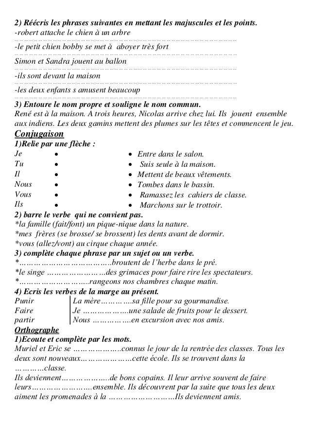 Cahier d'evaluation 5eme