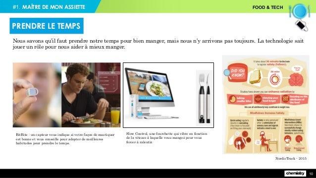 #1. FOOD & TECH 10 BitBite: un capteur vous indique si votre façon de mastiquer est bonne et vous conseille pour adopter ...