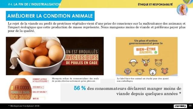#4. LA FIN DE L'INDUSTRIALISATION ÉTHIQUE ET RESPONSABILITÉ 65 Le rejet de la viande au profit de protéines végétales vien...