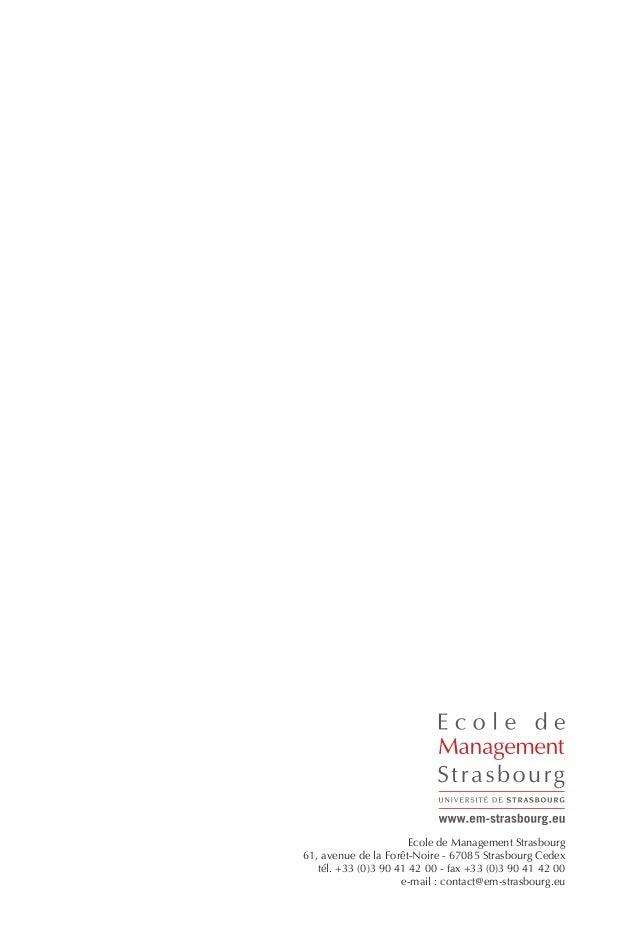 N°2Les Cahiers de la Finance Islamique Ecole de Management Strasbourg 61, avenue de la Forêt-Noire - 67085 Strasbourg Cede...