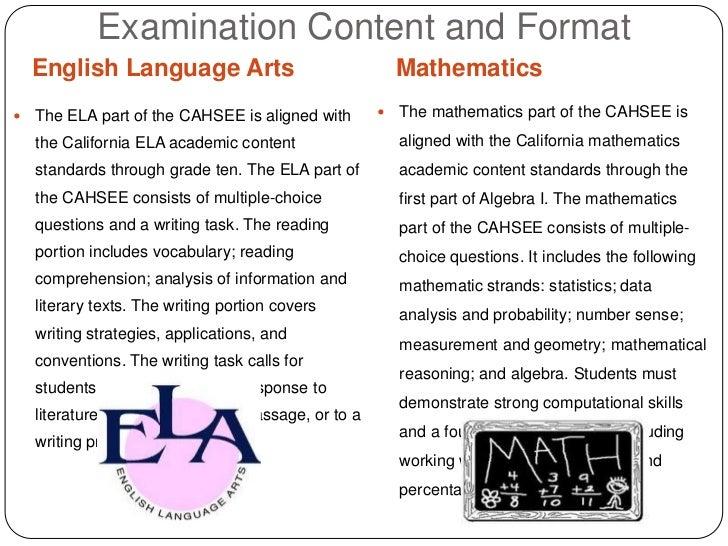 cahsee essay scale score