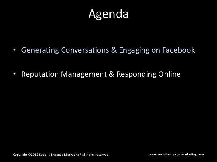 CAI - HOA Facebook & Reputation Management Slide 2