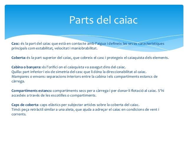 Caiac  Slide 3