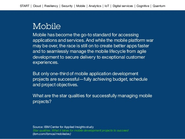 Mobile has become the go-to standard for accessing applications and services. And while the mobile platform war may be ove...