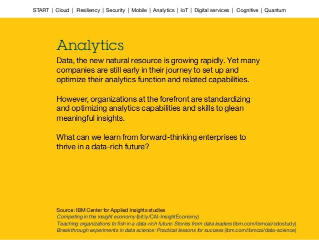 Data, the new natural resource is growing rapidly. Yet many companies are still early in their journey to set up and optim...