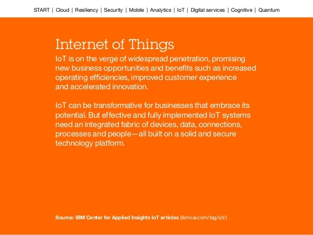 IoT is on the verge of widespread penetration, promising new business opportunities and benefits such as increased operatin...