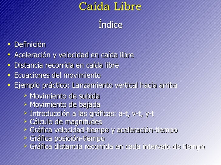 Caida Libre Slide 2