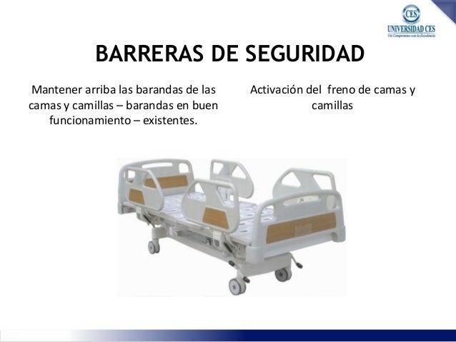 Caidas binomio infecciones for Barandas de seguridad