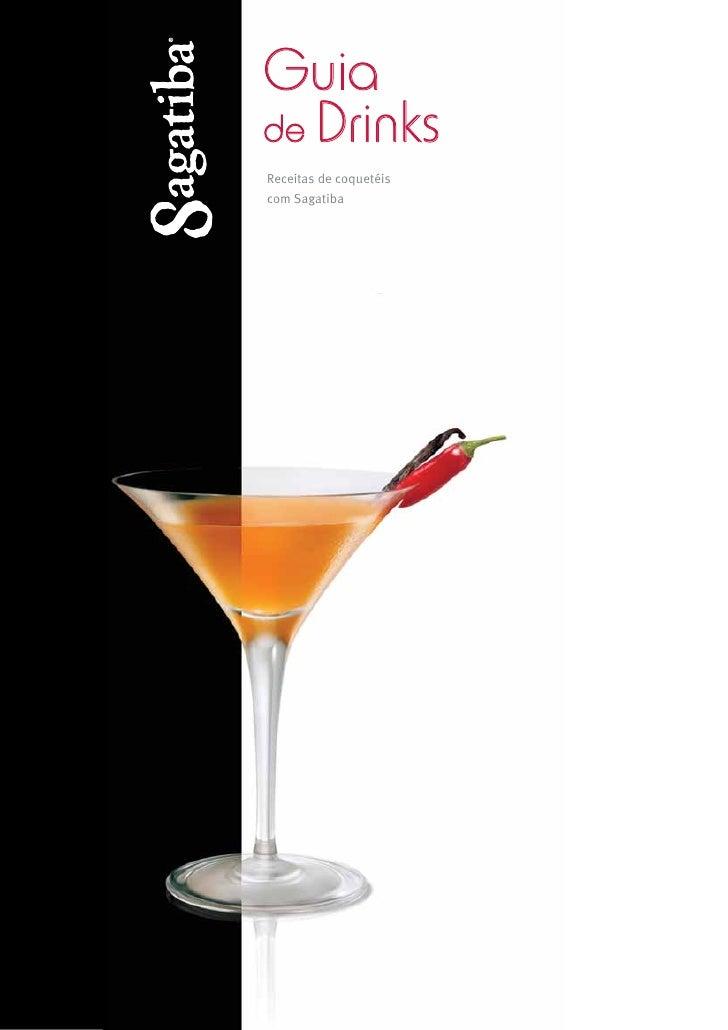 Guia de Drinks Receitas de coquetéis com Sagatiba