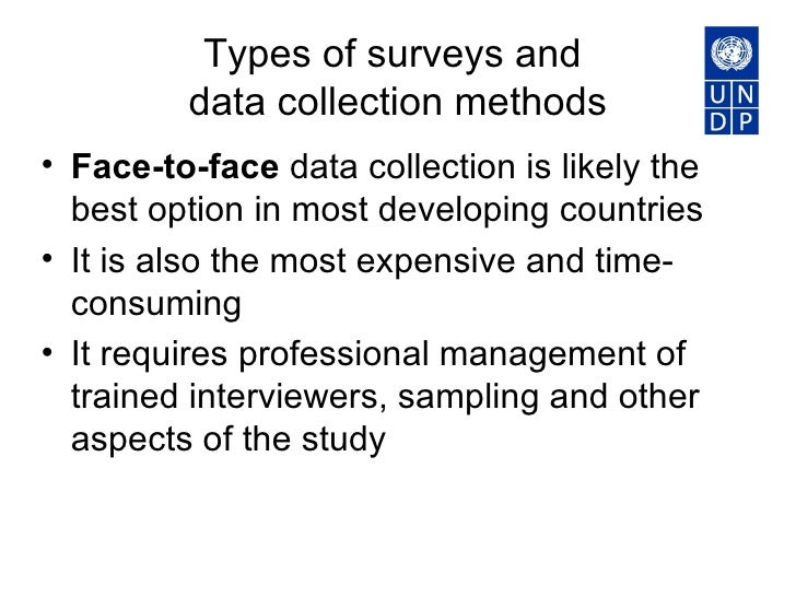 Methods and challenges in data collection