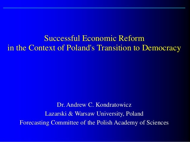 Perspectives on Poland's Transition to a Market Economy