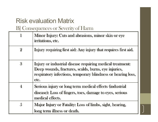 A Simplified Guide To Risk Assessment In Occupational Health  Safety