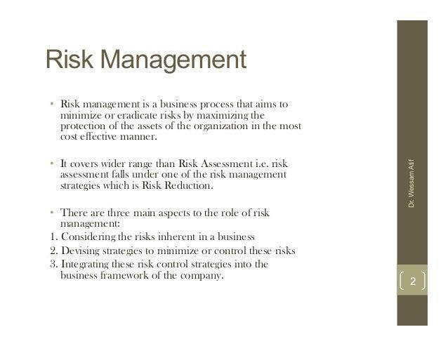 Risk Management ...