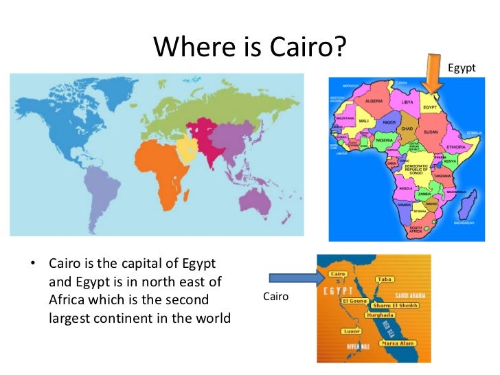 Cairo With Zombie - Where is cairo