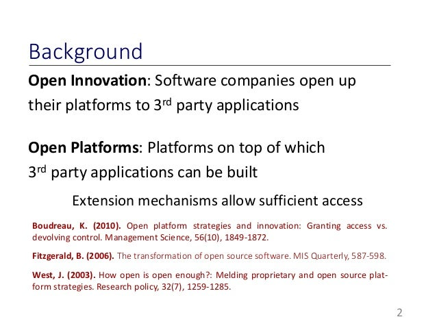 Accommodating Openness Requirements in Software Platforms: A goal-Ori…