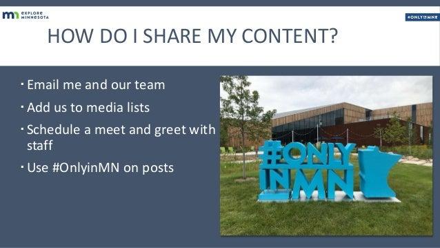 Be Social - Explore Minnesota Slide 2