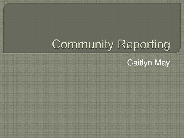 Caitlyn May