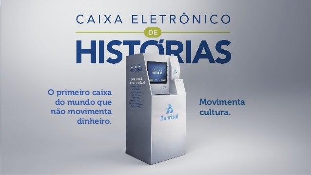 Escala - Caixa Eletrônico de Histórias (Inovação)