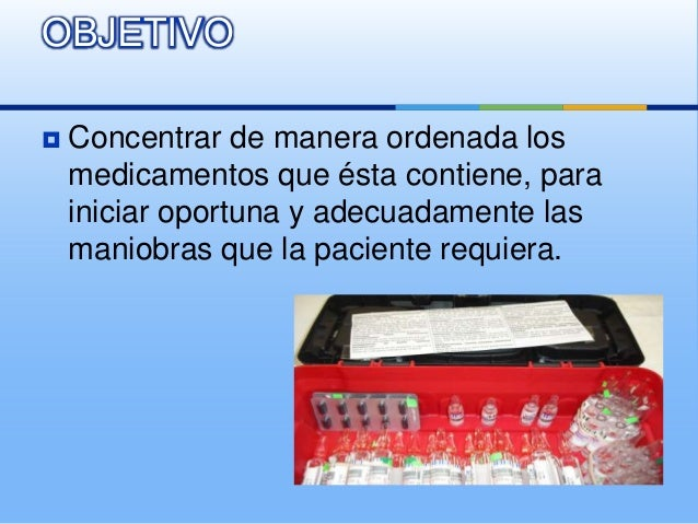 Caja roja obstetrica