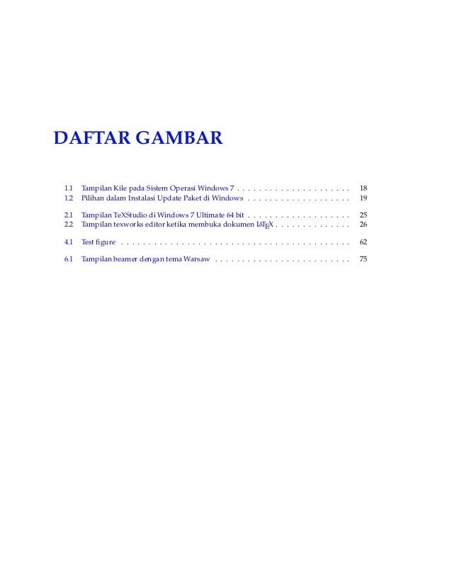 Membuat Dokumen LaTeX Eleventh Edition