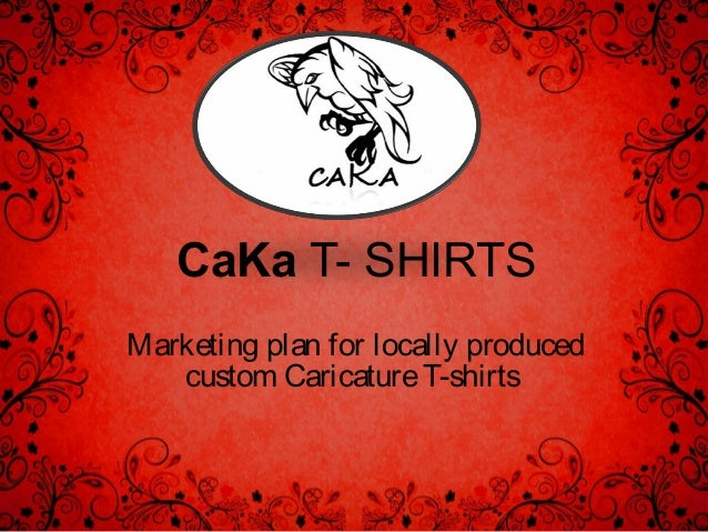 Business plan for custom apparel