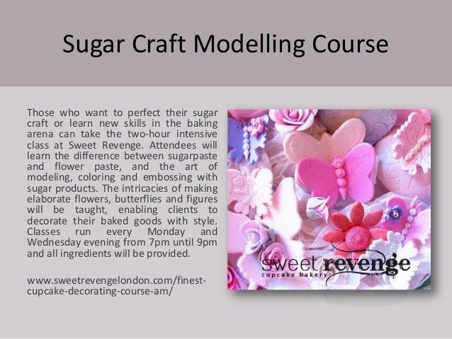 Courses Cake Decorating London