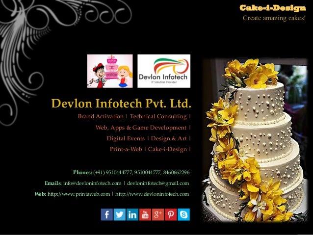 CakeiDesign Online Cake Designing Tool