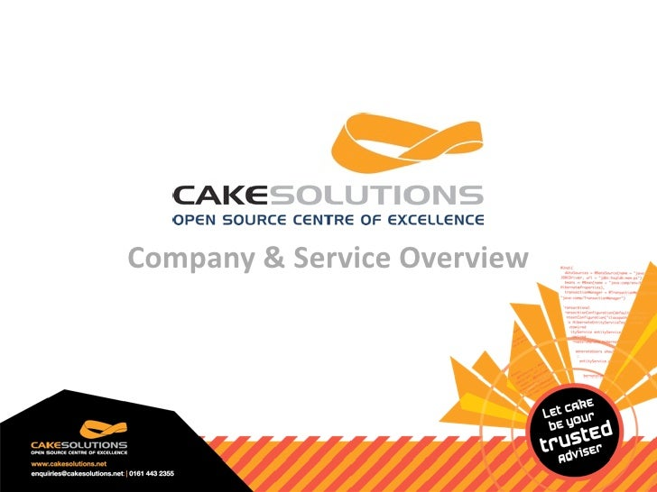 Company&ServiceOverview
