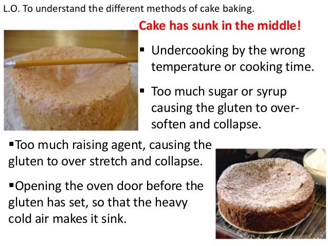How do raising agents work in cake making