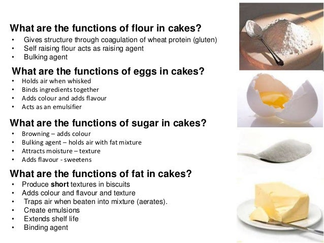 Function Of Flour In Cakes