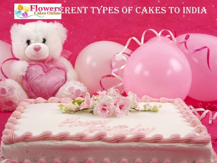 Send Different Types Of Cakes To India