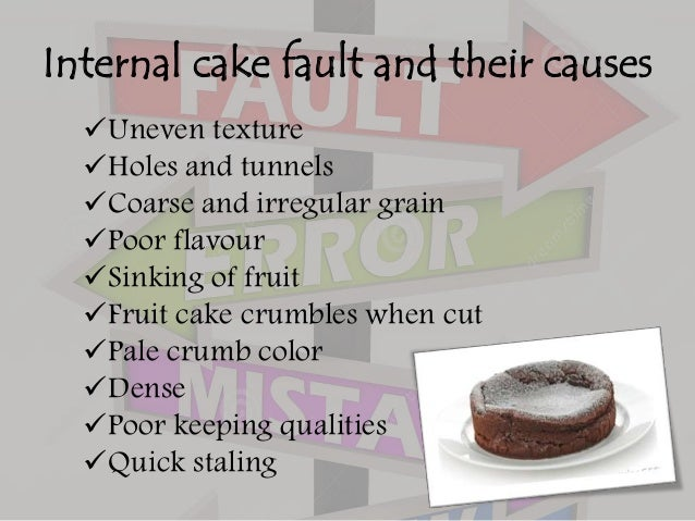 What Causes Fruit Cakes To Crack
