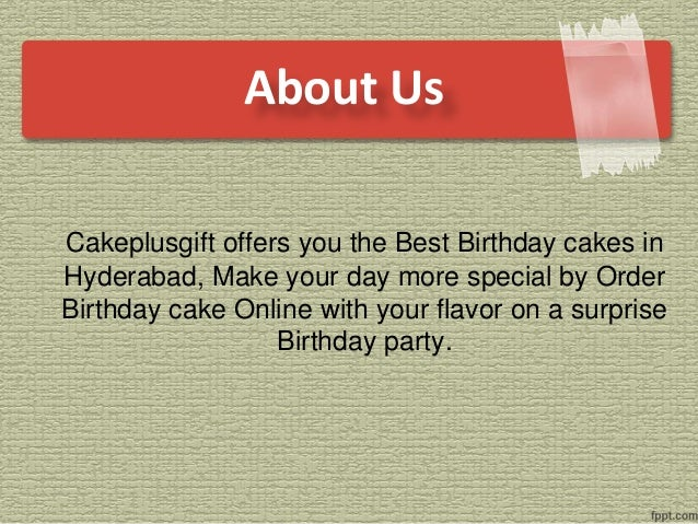 Order Birthday Cake Online 2