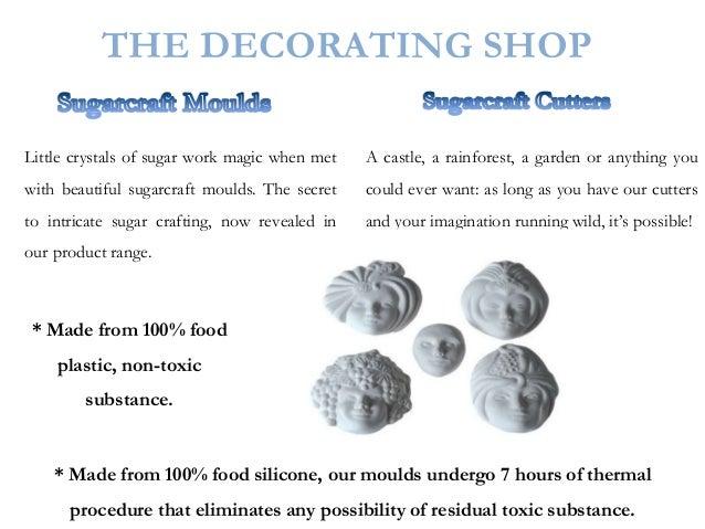 Cake Decorating Moulds India