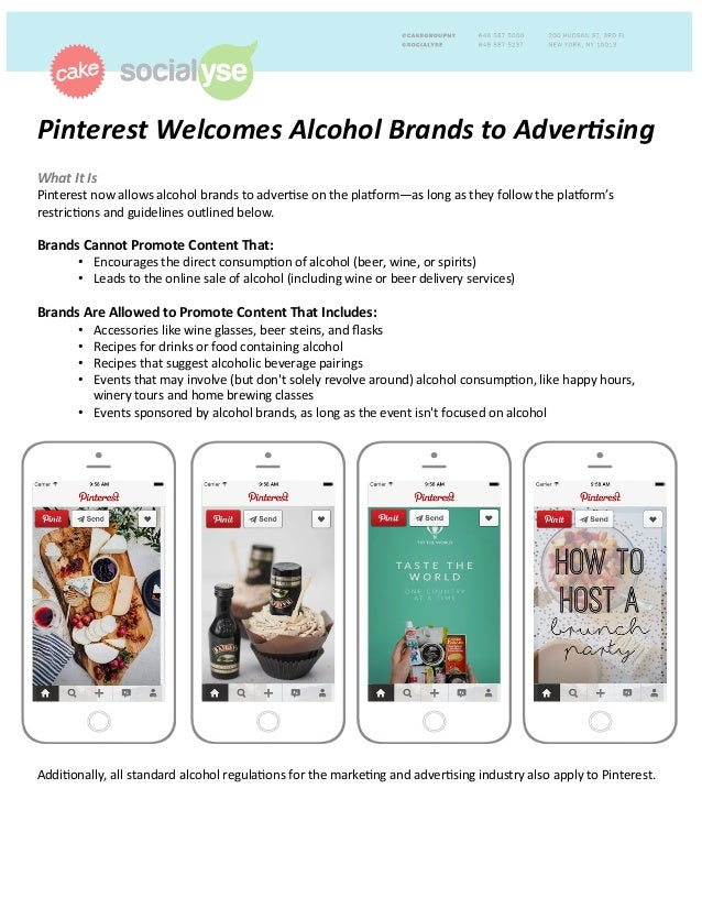 Pinterest  Welcomes  Alcohol  Brands  to  Adver4sing     What  It  Is     Pinterest  now  allows...